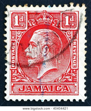 Postage stamp Costa Rica 1921 King George V