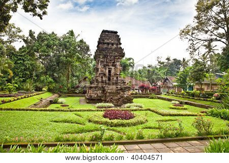 Candi Kidal Temple near by Malang on east Java, Indonesia.