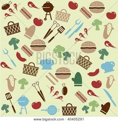 Barbeque pattern