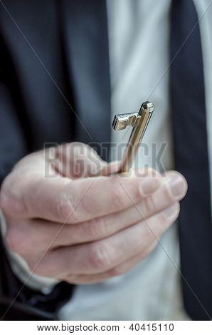 Giving A Key