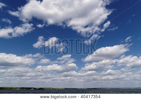 Clouds Over The River