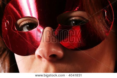Eyes Behind Mask