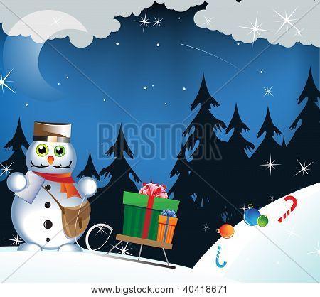 Snowman - Postman