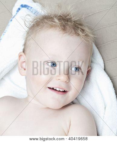 Little Boy After Bath