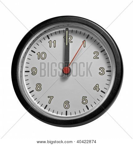 Frontal Clock Face