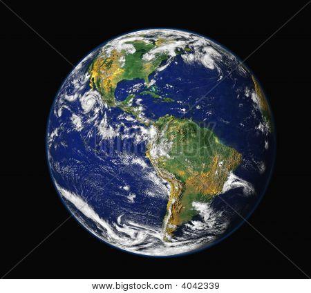 Erde & Mond america