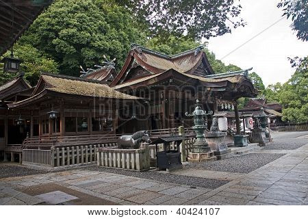 The Historic Temple In Kotohira - Japan