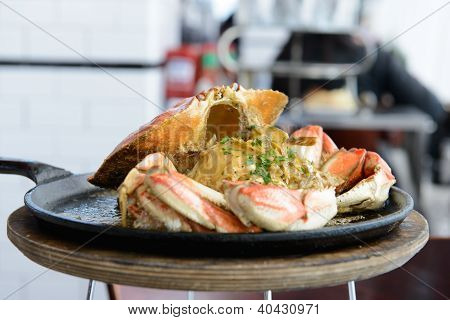 Garlic Flavor Crab