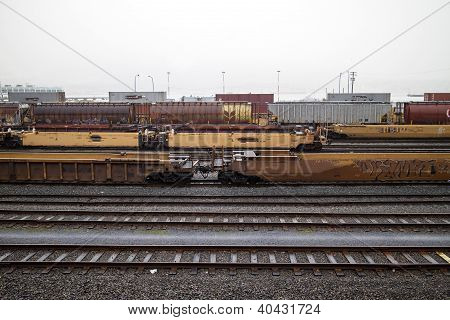Railyards By Gastown