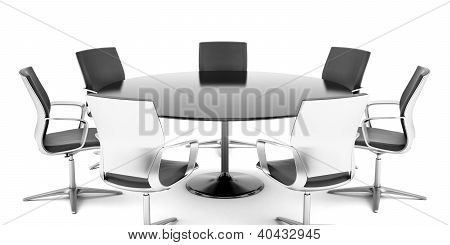 Round conference room