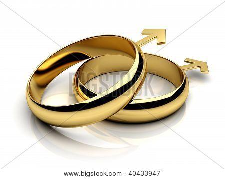 Gay Male Wedding Rings
