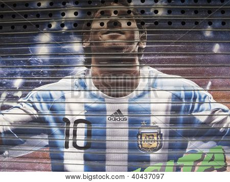 Tribute To Messi