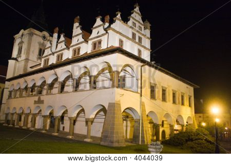 Levoca Old City At Night