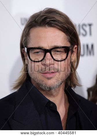 LOS ANGELES - DEC 8:  Brad Pitt