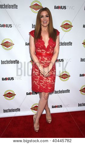 "LOS ANGELES - AUG 23:  Isla Fisher ""Bachelorette"" Los Angeles Premiere  on August 23, 2012 in Hollywood, CA"