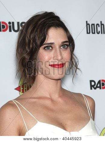 """LOS ANGELES - AUG 23:  Lizzy Caplan """"Bachelorette"""" Los Angeles Premiere  on August 23, 2012 in Hollywood, CA"""