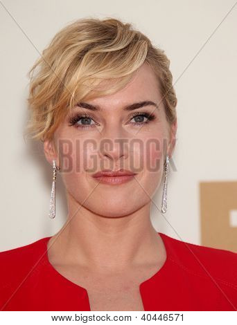 LOS ANGELES - AUG 11:  KATE WINSLET arriving to Emmy Awards 2011  on August 11, 2012 in Los Angeles, CA