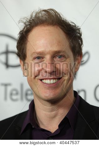 LOS ANGELES - JAN 10:  RAPHAEL SBARGE ABC All Star Winter TCA Party 2012  on January 10, 2012 in Pasadena, CA