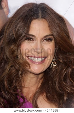 LOS ANGELES - APR 21:  TERI HATCHER Band From TV's 2nd Annual Block Party On Wisteria Lane  on April 21, 2012 in Hollywood, CA
