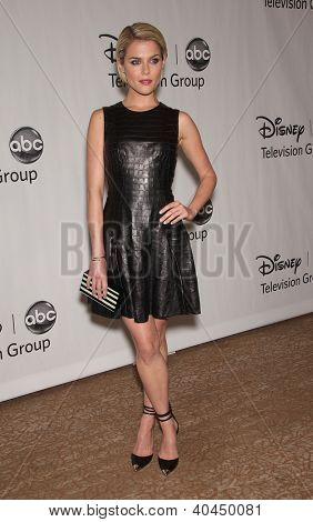 LOS ANGELES - JUL 27:  Rachael Taylor ABC All Star Summer TCA Party 2012  on July 27, 2012 in Beverly Hills, CA
