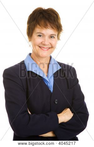 Friendly Mature Businesswoman
