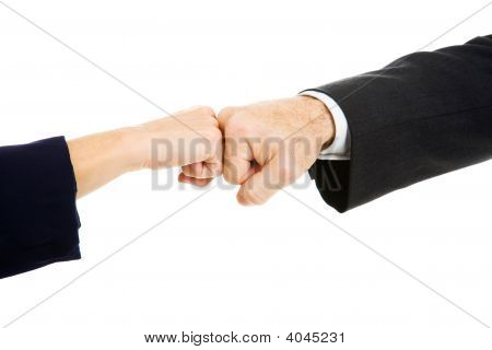 Business Fist Bump
