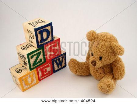 Blocks And Bear