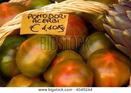Tomatoes, Italian Market