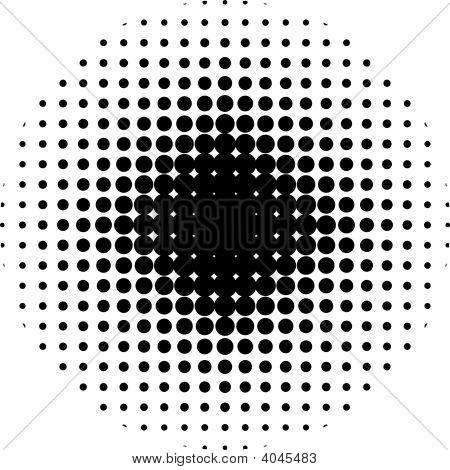 Halftone Circle