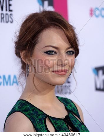 LOS ANGELES - JAN 12:  EMMA STONE arriving to Critic's Choice Movie Awards 2012  on January 12, 2012 in Hollywood, CA