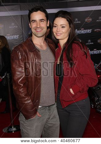 LOS ANGELES - APR 11:  Jesse Bradford & Monica