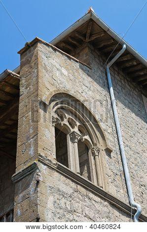 Farnese Palace. Viterbo. Lazio. Italy.