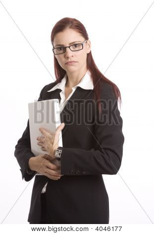 Unhappy Businesswoman