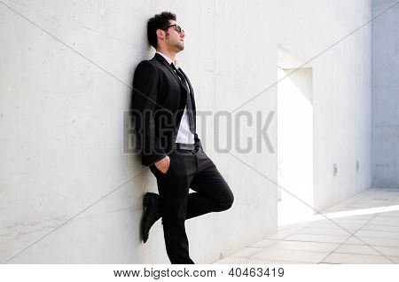 Portrait Of A Attractive Young Businessman