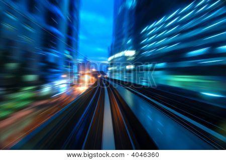 Urban Night Traffics