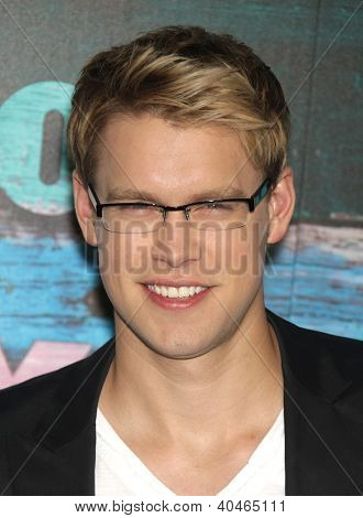 LOS ANGELES - JUL 23:  Chord Overstreet arriving to FOX All-Star Party 2012  on July 23, 2012 in West Hollywood, CA