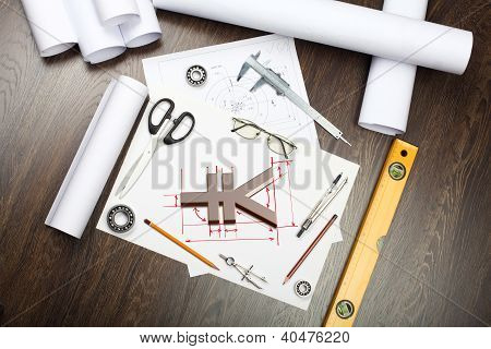 Tools and papers on the table