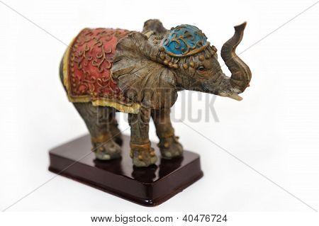 Matt figurine of elephant