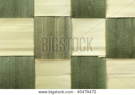 Background Of Bamboo Strips