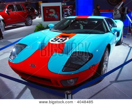 Ford Gt Super coche