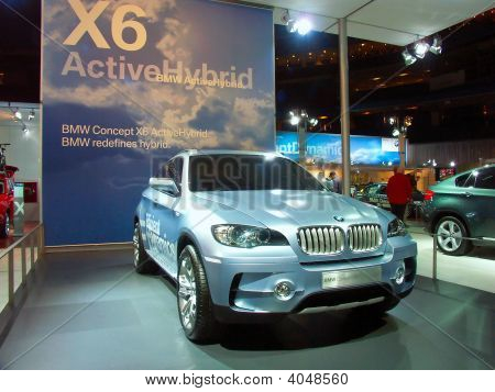 Bmw X6 Active Hybrid Concept Car