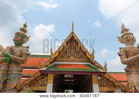 Wat Phra Keo, Bangkok Thailand
