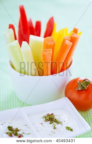 Crudites - Vegetable Sticks