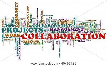 Collaboration Word Tags