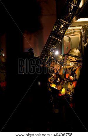 Firefighters Fire In Tokyo