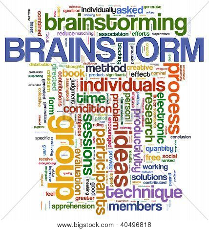 Brainstorm  Word Tags