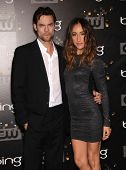 LOS ANGELES - AUG 10:  Shane West & Maggie Q arriving to CW Premiere Party  on August 10, 2011 in Bu