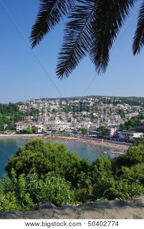 Beach Of Ulcinj Town, Montenegro
