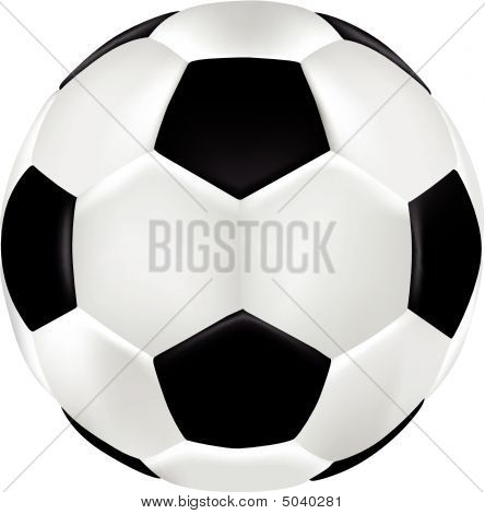 Football 3D Vector