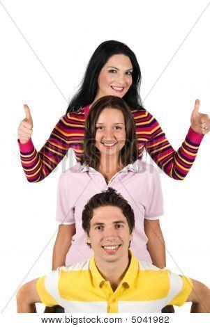 glücklich junge Menschen